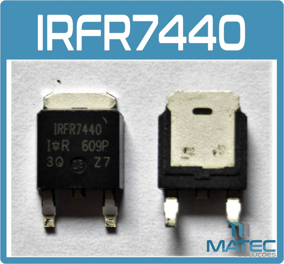 Kit Com 10 Irfr7440 - Smd - To252 - Mosfet