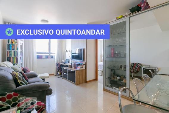 Apartamento No 17º Andar Mobiliado Com 1 Dormitório - Id: 892958985 - 258985