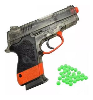 Pistola Smith & Wessom De Plastico A Resorte M45.-