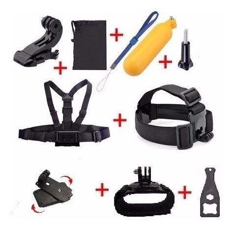 Gopro Kit Acessórios Câmera Hero 3/3+/4/5/6/7/session Sjcam