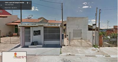 Tatui - Casa De 2 Qtos Bem Localizada, Com Renda