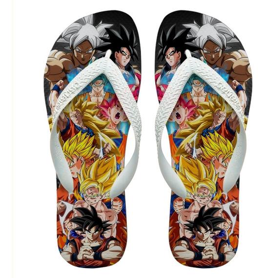 Chinelos Havaianas Personalizados Dragon Ball Goku [6]