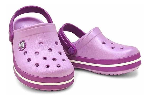 Suecos Crocs Crocband Kids Niños Originales Sport Evolved