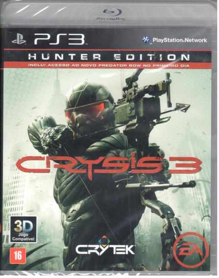 Crysis 3 Hunter Edition Ps3 Original Mídia Física Lacrado