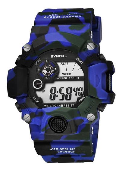 03 Relógios Militar Exército Shock + Frete Grátis * Promoção
