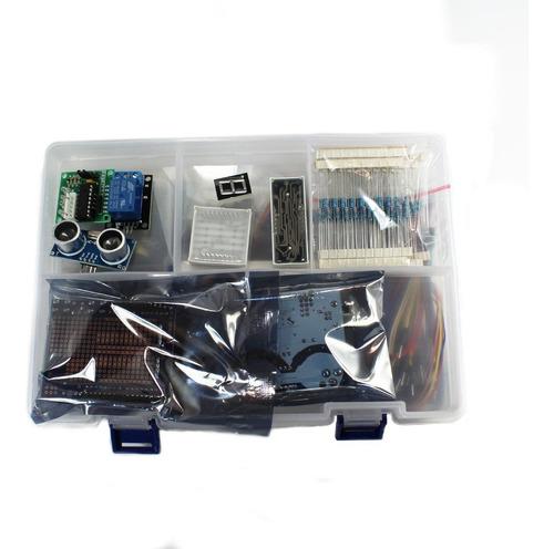Imagen 1 de 2 de Kit Arduino Básico Principiantes, 263 Elementos