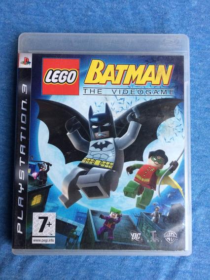 Lego Batman The Videogame Ps3 M. Fisica Frete R$10