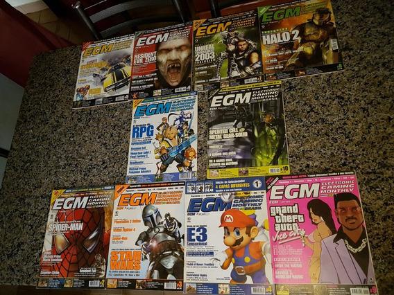 Coleção Revistas Egm Edição 1 Ao 10 Perfeitas.