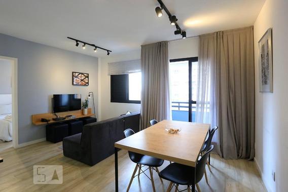 Apartamento Para Aluguel - Brooklin, 1 Quarto, 50 - 893108599