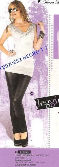 Hermoso Leggins Negro Talla 7 Envio Inmediato