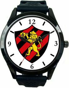 Relógio Pulso Masculino Sport Clube Recife Barato Oferta