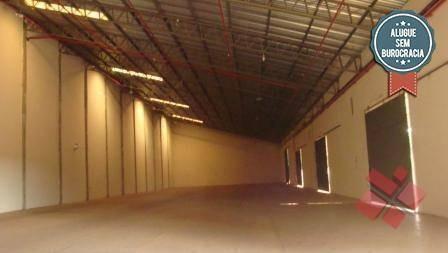 Galpão Para Alugar No Setor Empresarial Em Goiânia/go - Ga0011