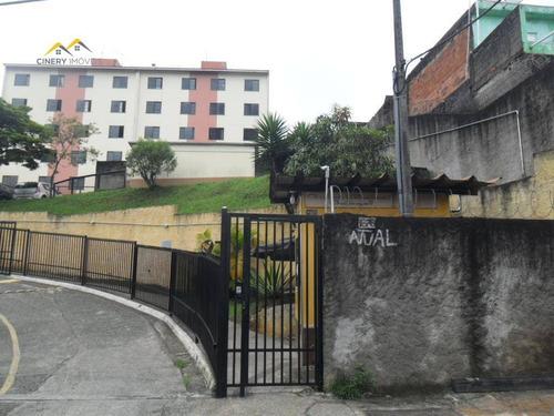 Apartamento Com 2 Dormitórios À Venda, 48 M² Por R$ 120.000 - Guaianazes - São Paulo/sp - Ap0012