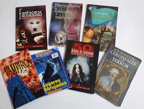 Libros De Terror Lote 7 Pzas