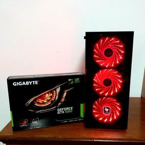 Pc Gamer I7 7700, Gtx 1060, 8gb Ddr4 2400, Ssd 120 + Brinde
