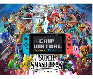 Super Smash Bros Ultimate Nintendo Switch + Chip Virtual Cfw