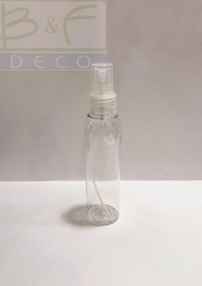 Envase Perfumero Plástico Válvula X 125 Cc X 20 Unid