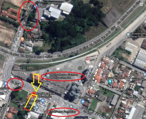 Terreno À Venda Com 528m² Por R$ 1.200.000,00 No Bairro Weissópolis - Pinhais / Pr - Ney-te0062
