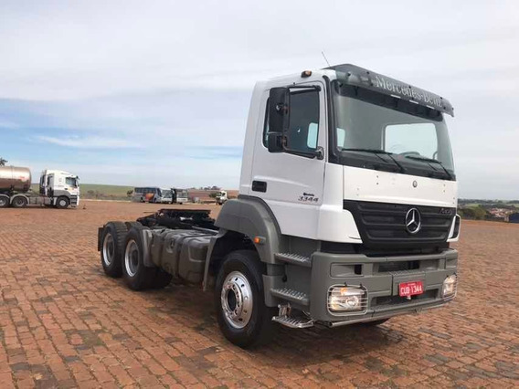 Mercedes-benz Axor 3344 6x4 Único Dono Impecável 2009