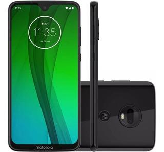 Celular Motorola Moto G7 64gb 4gb 6,2 12mp+5mp 8mp - Onix