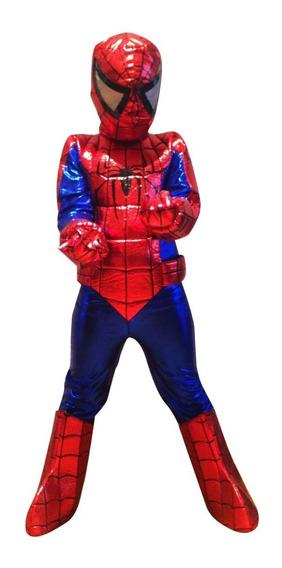 Disfraz Spiderman O Hombre Araña Niño Tallas 2 A 8 Mod. 1