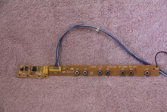 Teclado E Sensor Cr Gradiente Lcd-2730 2970055200 2970054301