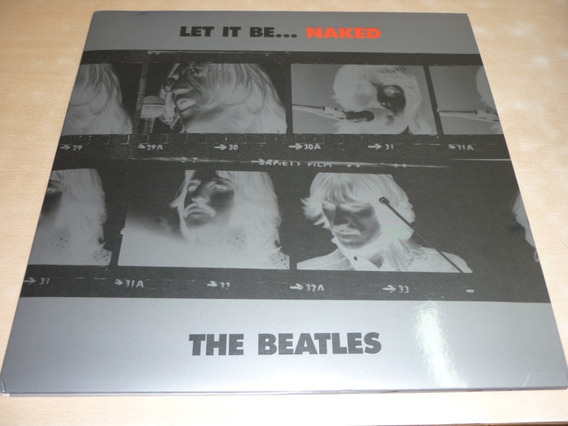 The Beatles Let It Be Naked Vinilo + Simple Como Nuevo