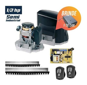 Kit Motor Portão Garen Unisystem Semi-industrial 1/2hp 6m