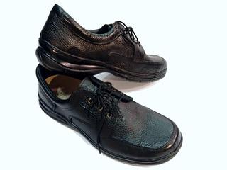 Zapato Foot Notes 100% Cuero Suela Febo De Goma 308