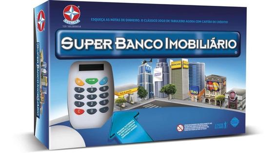 Jogo De Tabuleiro Banco Imobiliario Super Estrela Unidade