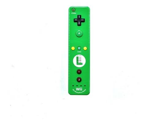 Imagen 1 de 1 de Control Wiimote Luigi Para Consola Nintendo Wii U