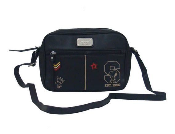 Bolsa Feminina Transversal Snoopy Sp2801 Coleção Army