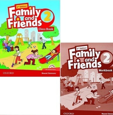 Family And Friends 2 - Class Book And Workbook - 2nd Edition