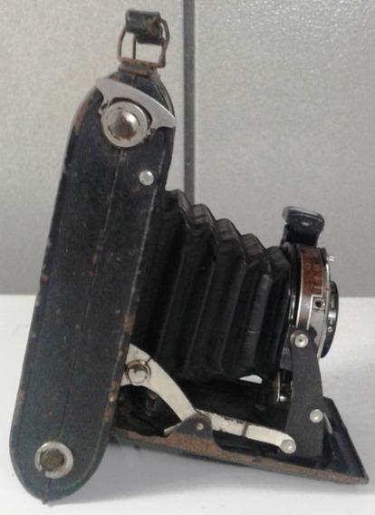 Raríssima Máquina Fotográfica Da Década De 30 Voiglander.