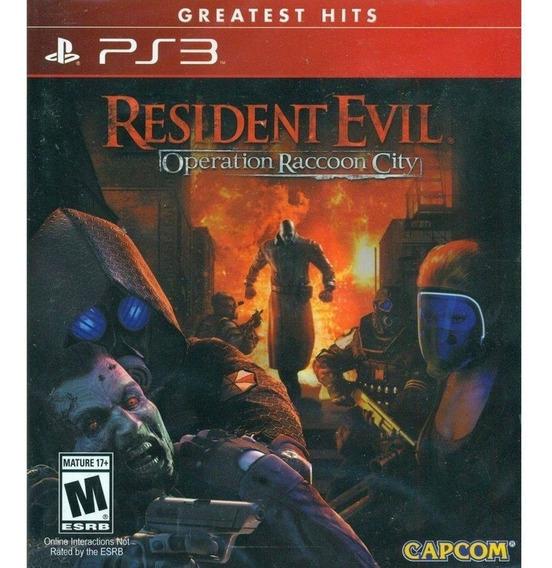 Jogo Resident Evil - Operation Raccoon City (novo) Ps3