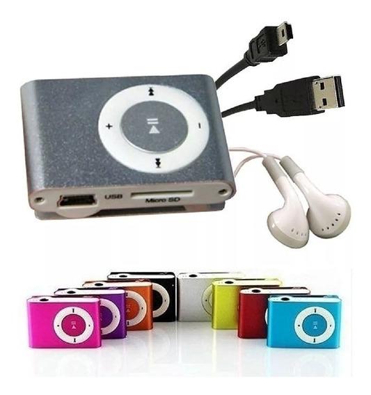 Reproductor Mp3 Shuffle Ranura Microsd 16gb!!! Somos Tienda!
