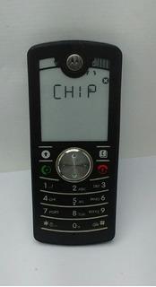 Celular Motorola F3 (para Idosos - Funcionando) Carregador