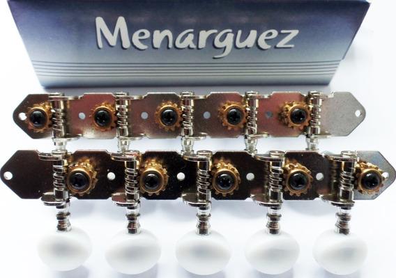 Clavijero Charango Menarguez Modelo 301 Cromado Paso 23mm