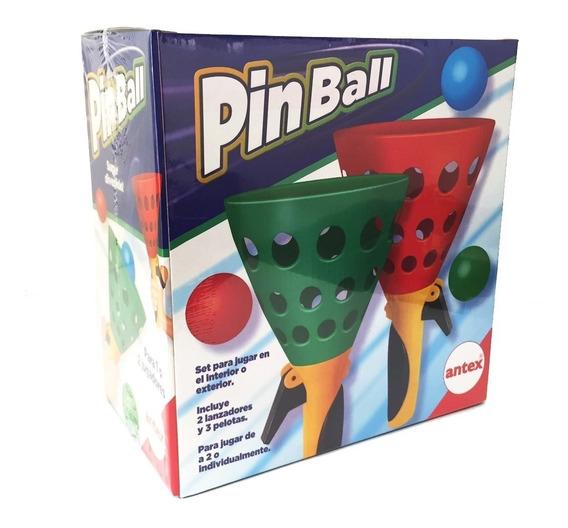Pinball Lanza Y Atrapa Las Pelotas Antex Original