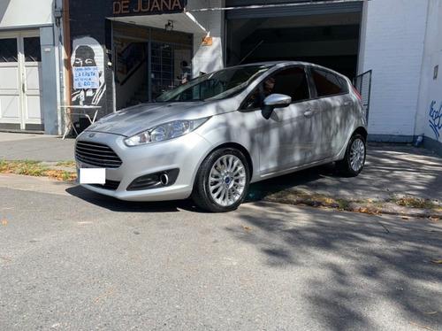 Ford Fiesta 1.6l Kinetik Design Se Plus 5 Ptas Plata 2016