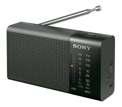 Radio Portatil Sony Icf-p36 Am Fm Analoga Salida Auricular