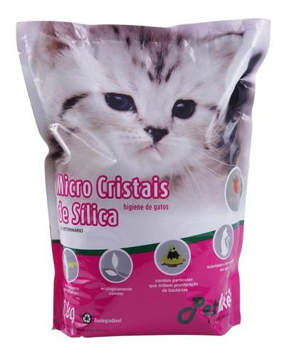Areia Sílica Para Gatos - 1,6kg