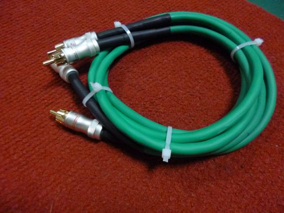 Cabos Rca Snake Gold Plated, Produto Da Electro, Eletrônica