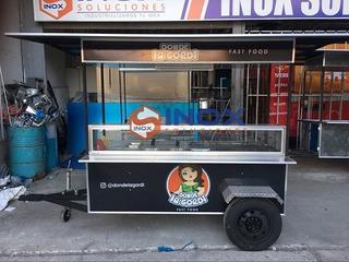 Se Vende Carretilla Carrito Tipo Remolque Food Truck