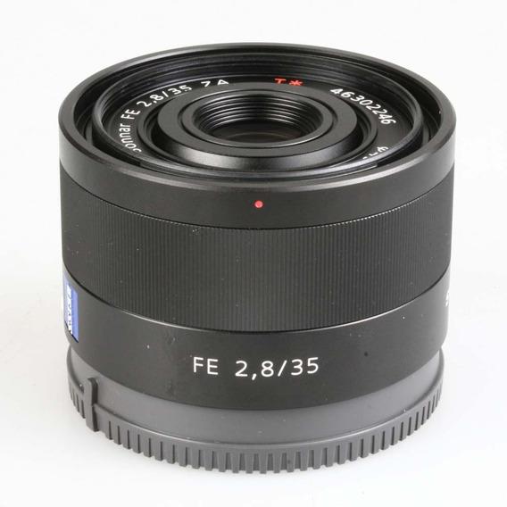 Objetiva Carl Zeiss Sonnar Fe 35mm F2.8 Za T* P/ Sony E