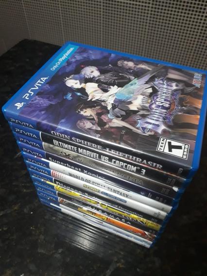Jogos Para Ps Vita - 12 Jogos Para Colecionadores.