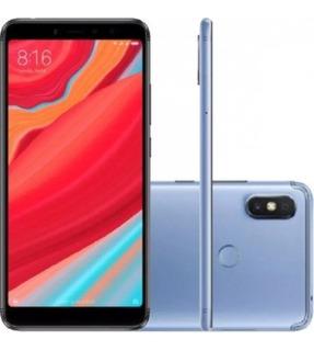 Celular Xiaomi Redmi S2 32gb Azul + Capa Original Lacrado