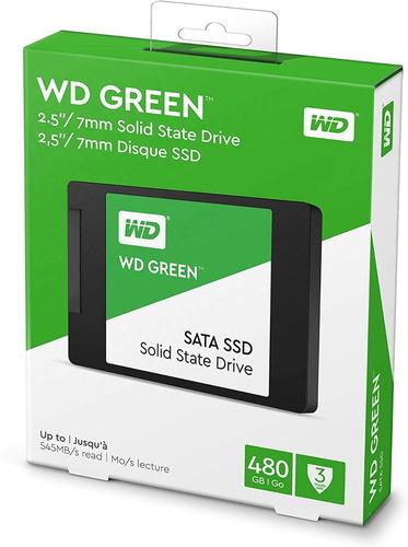Disco Duro Solido Ssd Western Digital 480gb Green Wd Sata