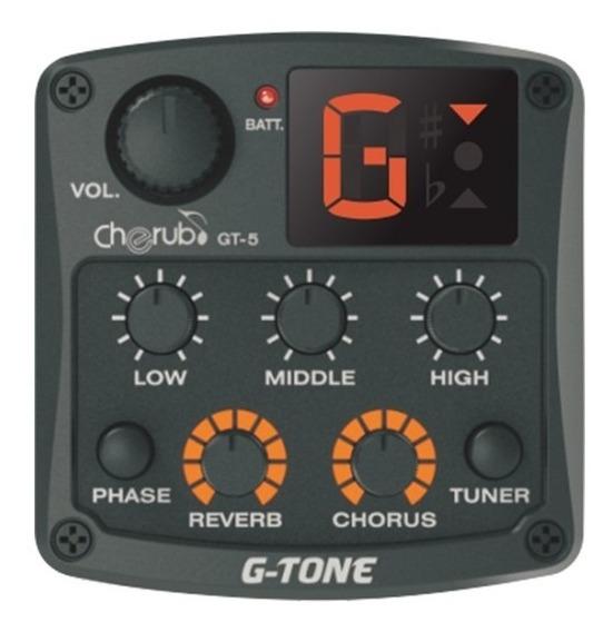 Ecualizador Preamplificador Cherub Gt-5 Para Guitarra