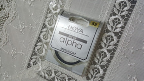 Filtro Hoya Mc Uv Alpha Multicoat 52mm P/ Câmera Slr E Hdsrl